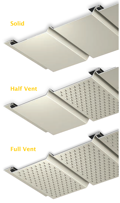 PAC-750 - Solid Vent Panels, Half Vent Panels, Full Vent Panels